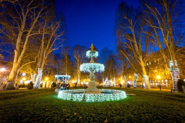 Коледният базар в Загреб