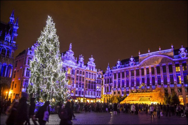 Коледният базар в Брюксел