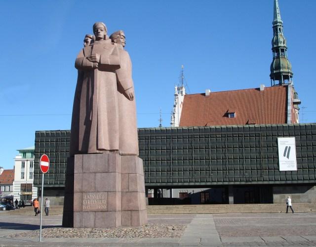 Площад на латвийските стрелци