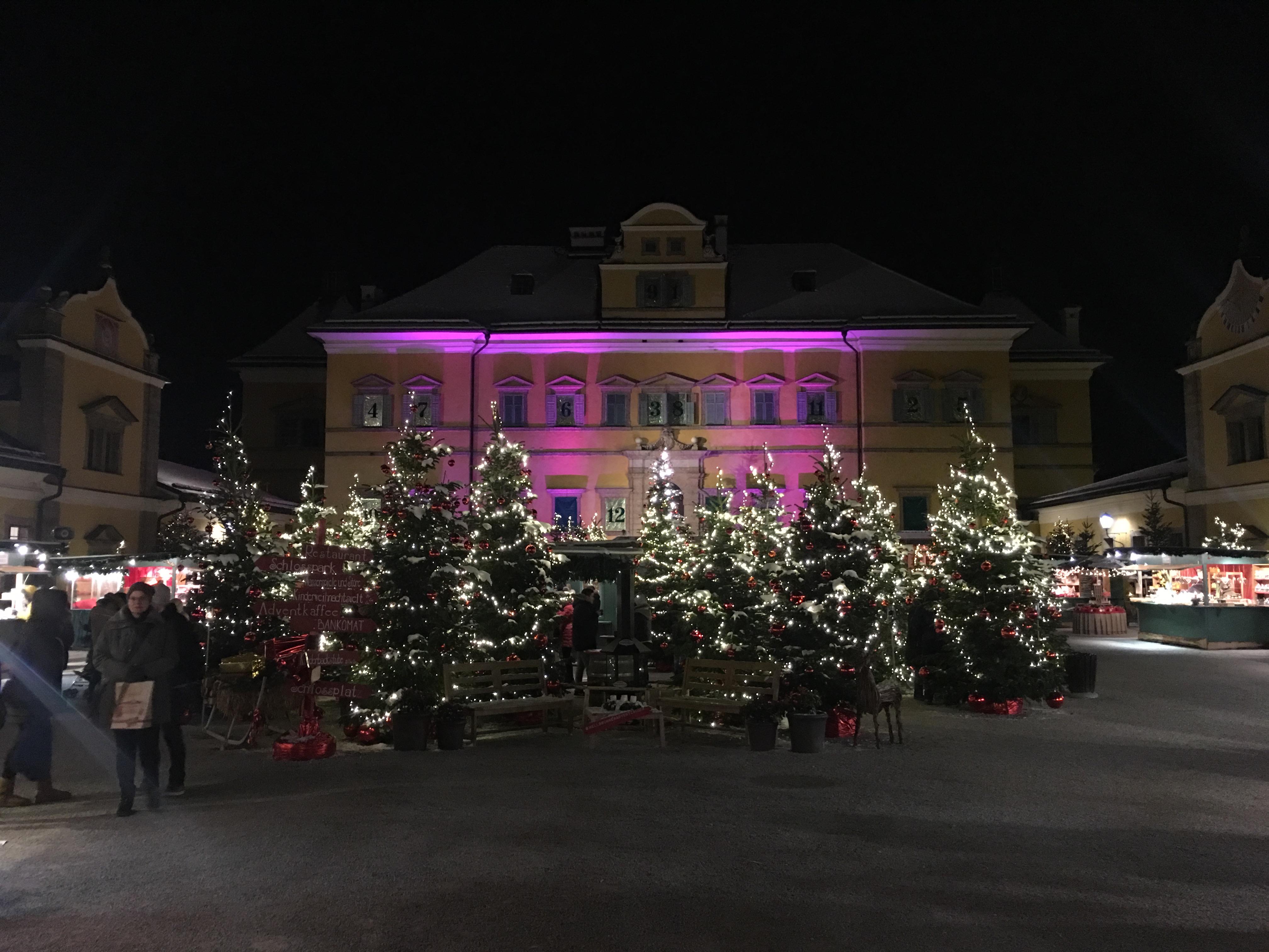 Галерия: Коледният базар в двореца Хелбрун (Залцбург)