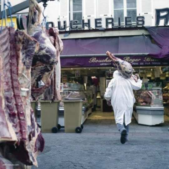 The Butcher, from Paris at Dawn by Anthony Epes