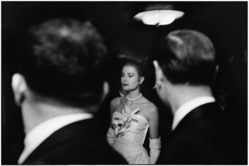 USA. New York City. January, 1956. The engagement party of Grace KELLY and Prince Rainier of Monaco at the Waldorf-Astoria hotel.