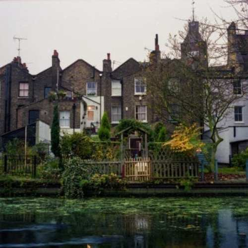 Hackney Houses on canal