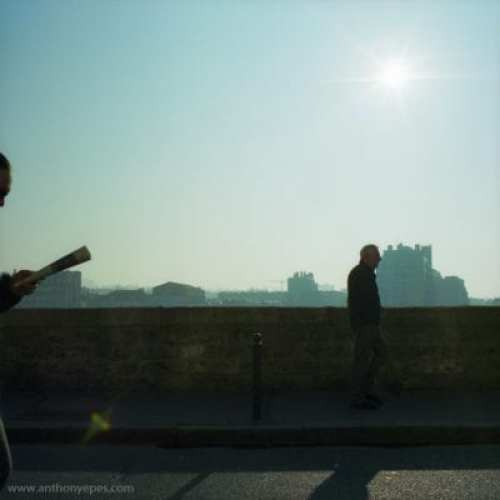 Image from Paris at Dawn by Anthony Epes