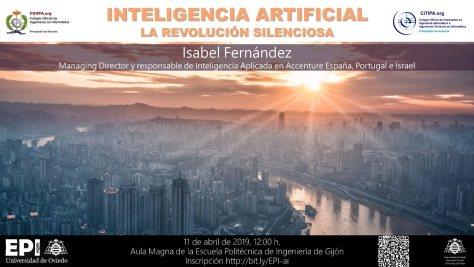 20190411-Cartel-INTELIGENCIA-ARTIFICIAL-La-revolucion-silenciosa-EPIGIJON-CITIPA-COIIPA