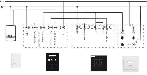 small resolution of electronic doorplate complete diagram