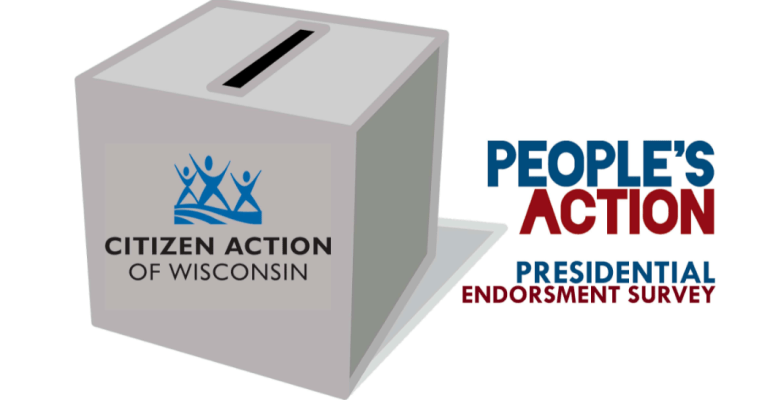 Vote in People's Action Presidential Endorsement Process