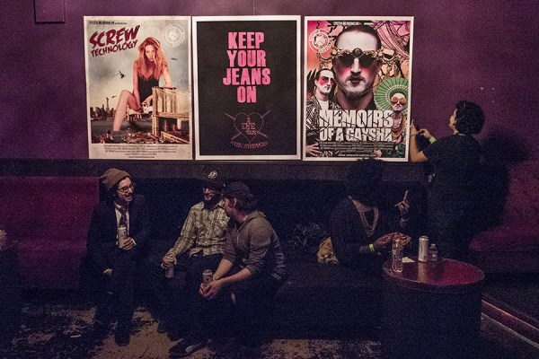 CBK Posters at Brain-Cave Photo © Icarus Blake