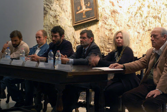 Press conference at Mar Museum in Ravenna