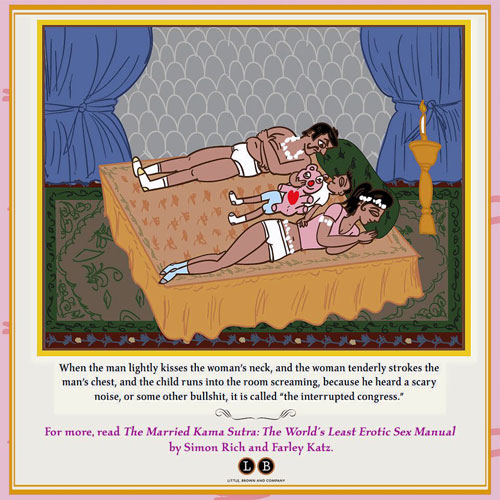 "Loveless life: Simon Rich and Farely Katz's ""The Married Kama Sutra"" offers positions they say any couple can achieve."