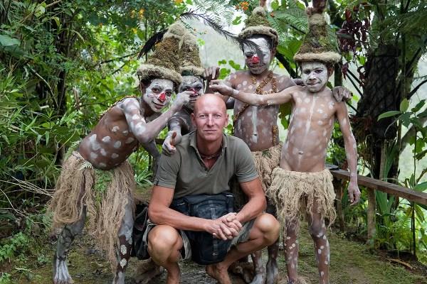 Goroka Tribe, Papua, New Guinea Photo © Jimmy Nelson BV courtesy teNeues