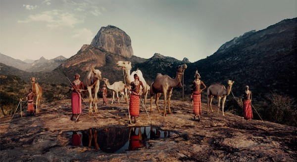 Samburu Tribe, Kenya Photo  © Jimmy Nelson BV courtesy teNeues