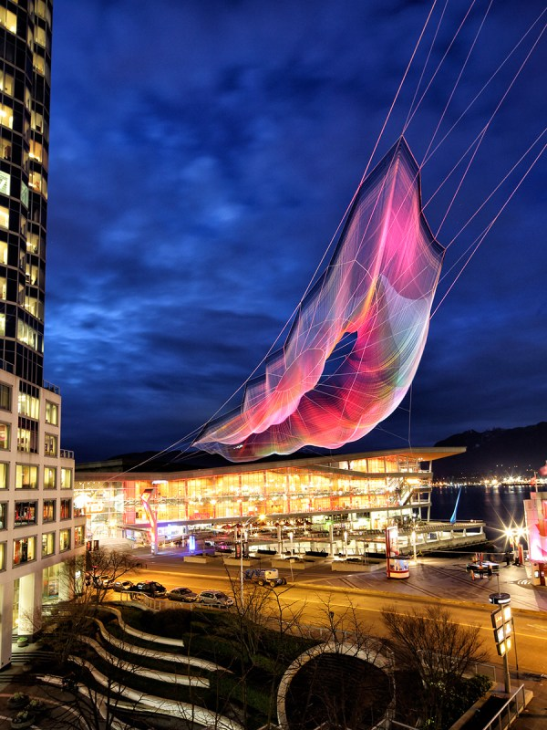 Van by Janet Echelman  Photo © Ema Peter