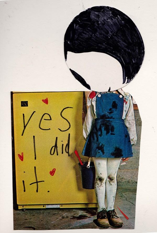 I Did It © Elizabeth Schoettle