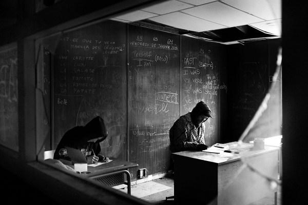 young migrants learn their new language ©Simone Perolari