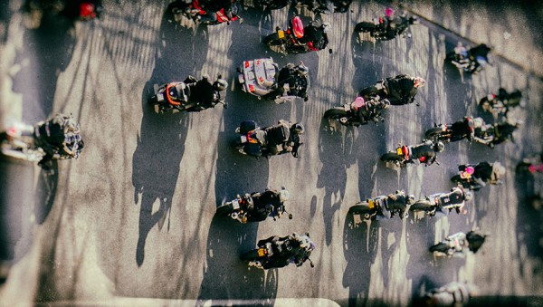 Bike Traffic ©Teo J. Babini