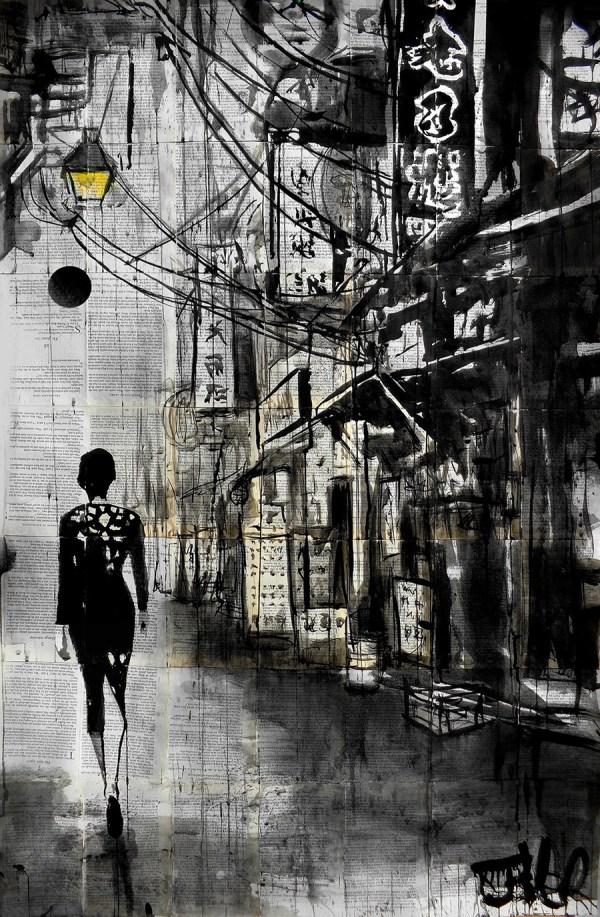 down china town way © Loui Jover