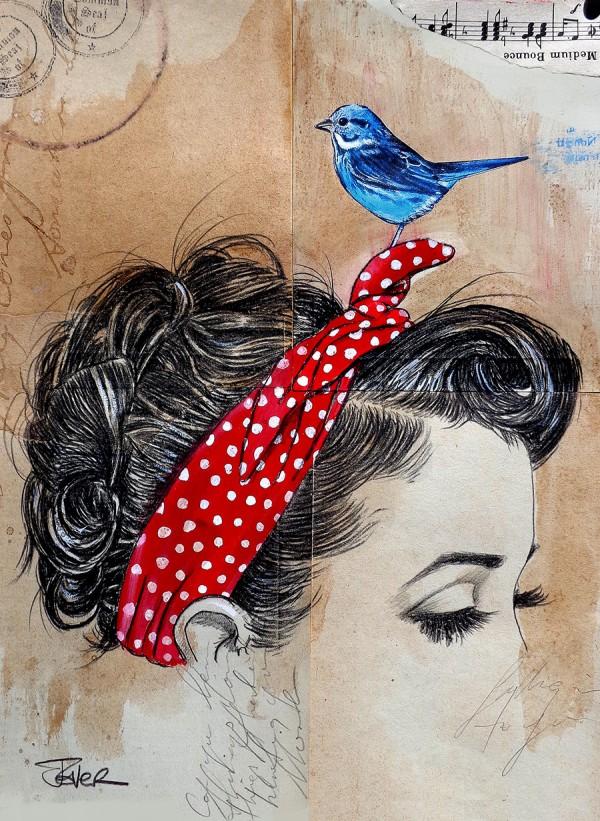 falling somewhere else © Loui Jover