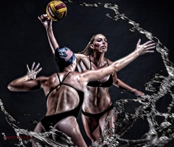 KK Clark - USA Olympic Water Polo Team ©Mitchel Gray