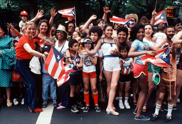 Puertorican Day Parade ©Arlene Gottfried
