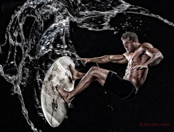 The Surfer - ©Mitchel Gray