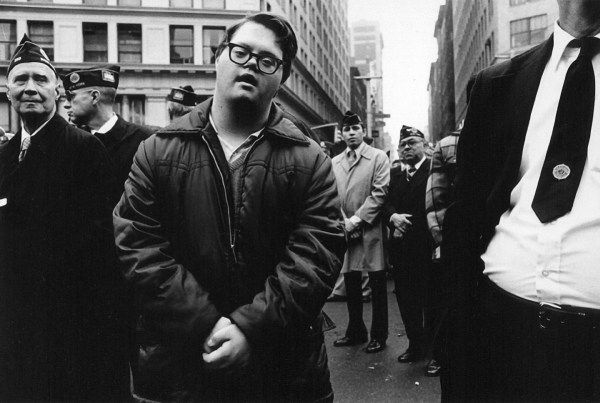 young-man-veterans-day-parade-ny-1979 ©Arlene Gottfried