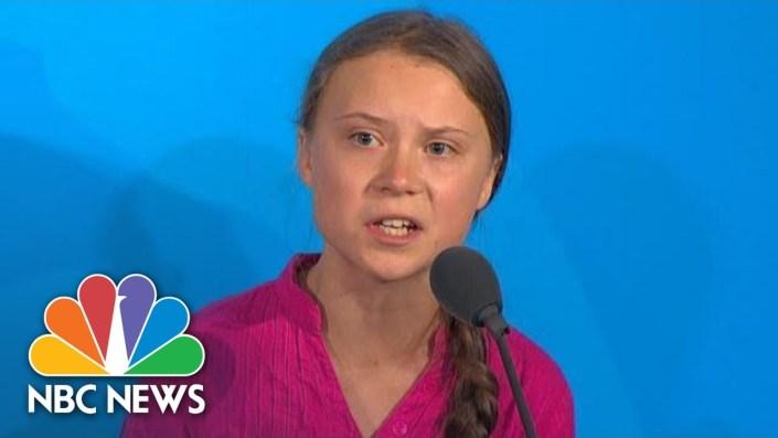 Angry Greta Thunberg warns world leaders…
