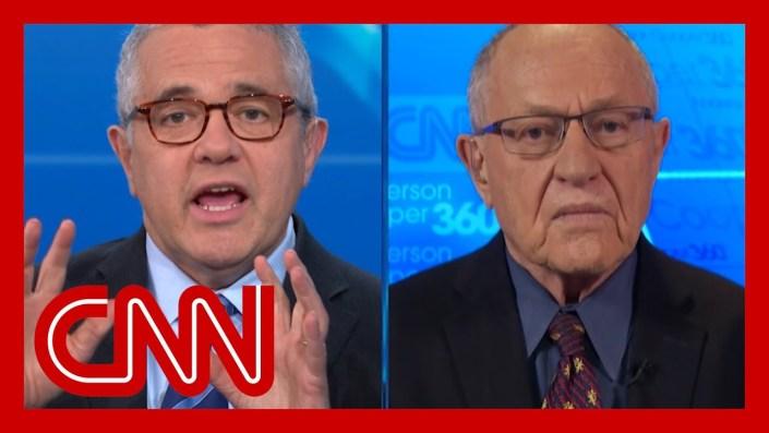 Dershowitz wipes the floor with Jeffrey Toobin…