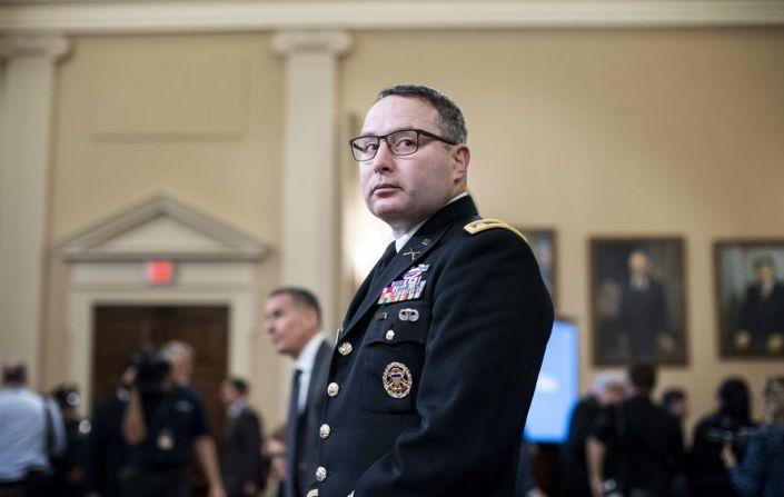 Coup plotter Vindman retires from military…