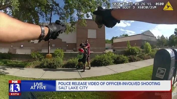 Nice shooting, officers…