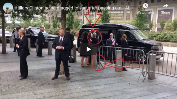 Hillary being tossed into Scooby van…