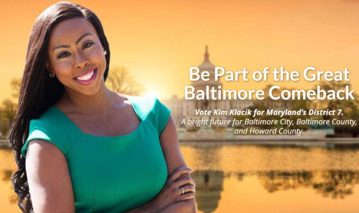 Kim Klacik — The Great Baltimore Comeback…