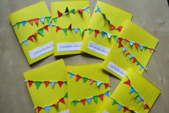 8 cartes d invitation festives a faire