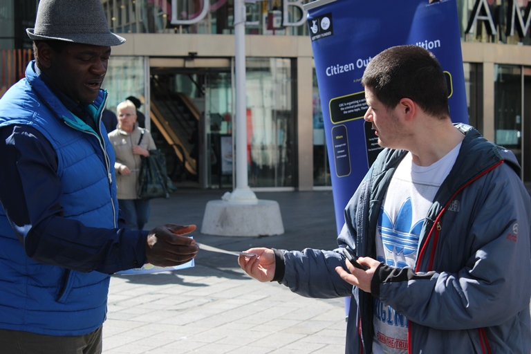 UK. Crime prevention with Flyers | Citizen Outreach Coalition