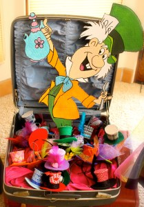 Citlali Rose Mad Hatter Display