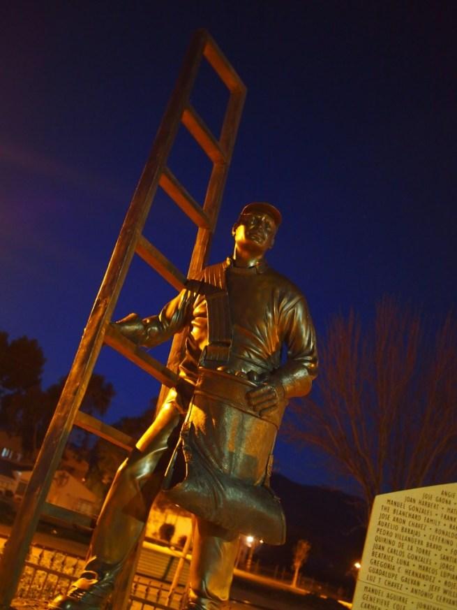 Santa Paula Farmworker Monument Bronze Statue Closeup via Citlali Rose
