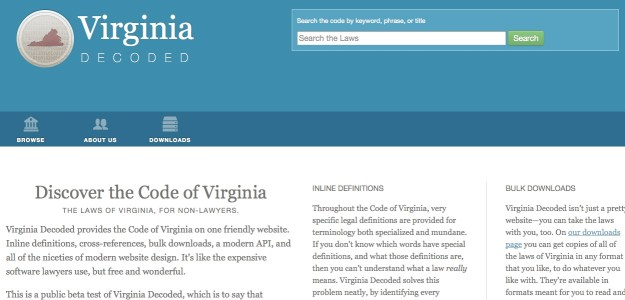 Virginia Decoded