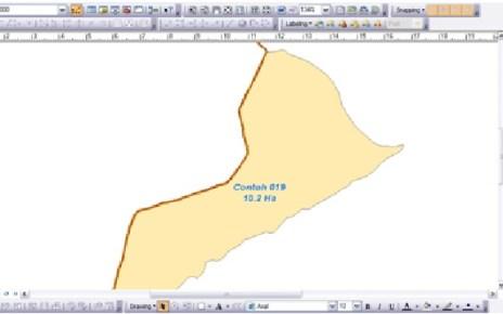 Membuat Variasi Label pada Peta
