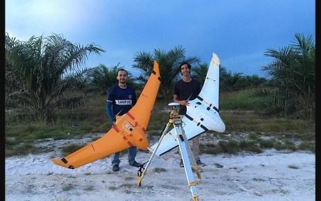 Pesawat UAV X8