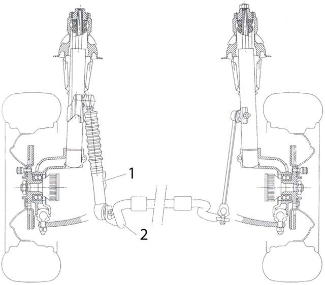Citroën hydraulics anti-roll suspension and other developments