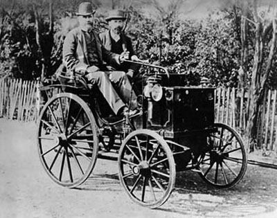 First Internal Combustion Engine Car