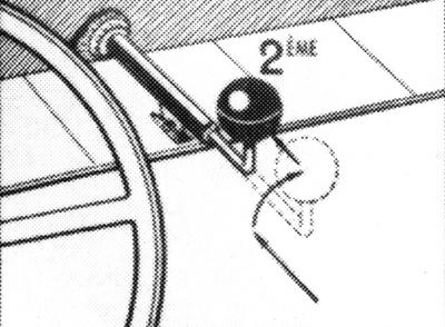 Citroen 2 CV gearchange