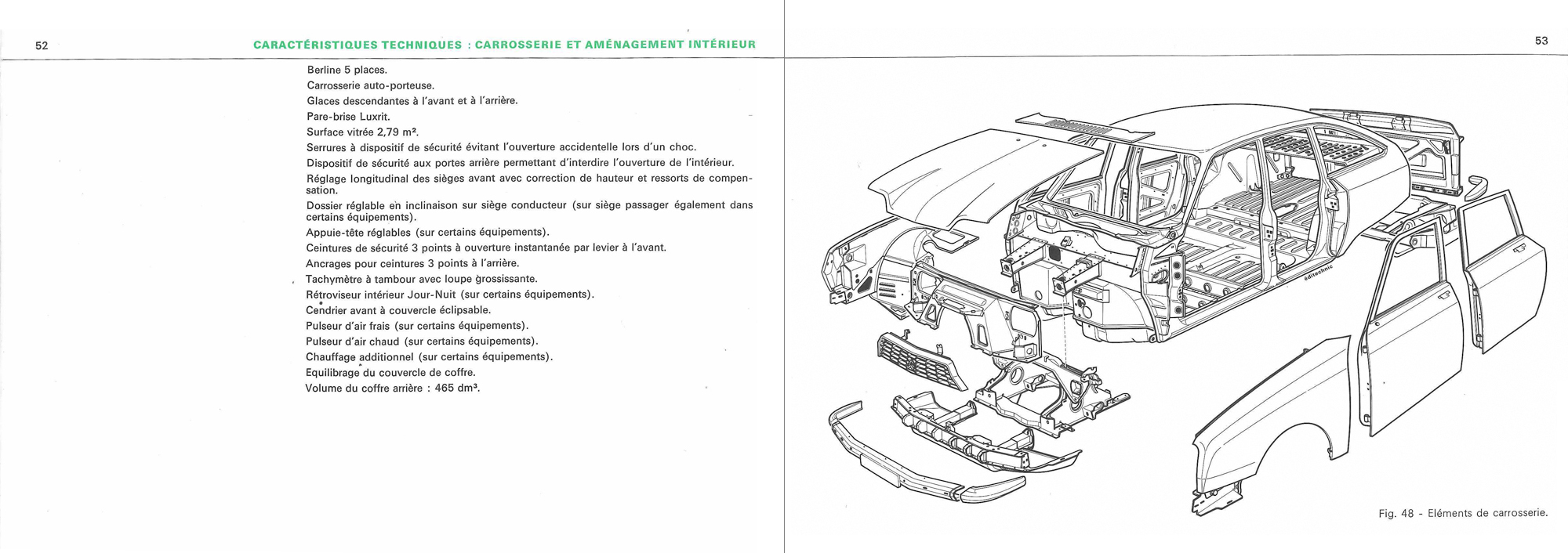 1970 Citroën GS Notice d'emploi (owner's manual) #2