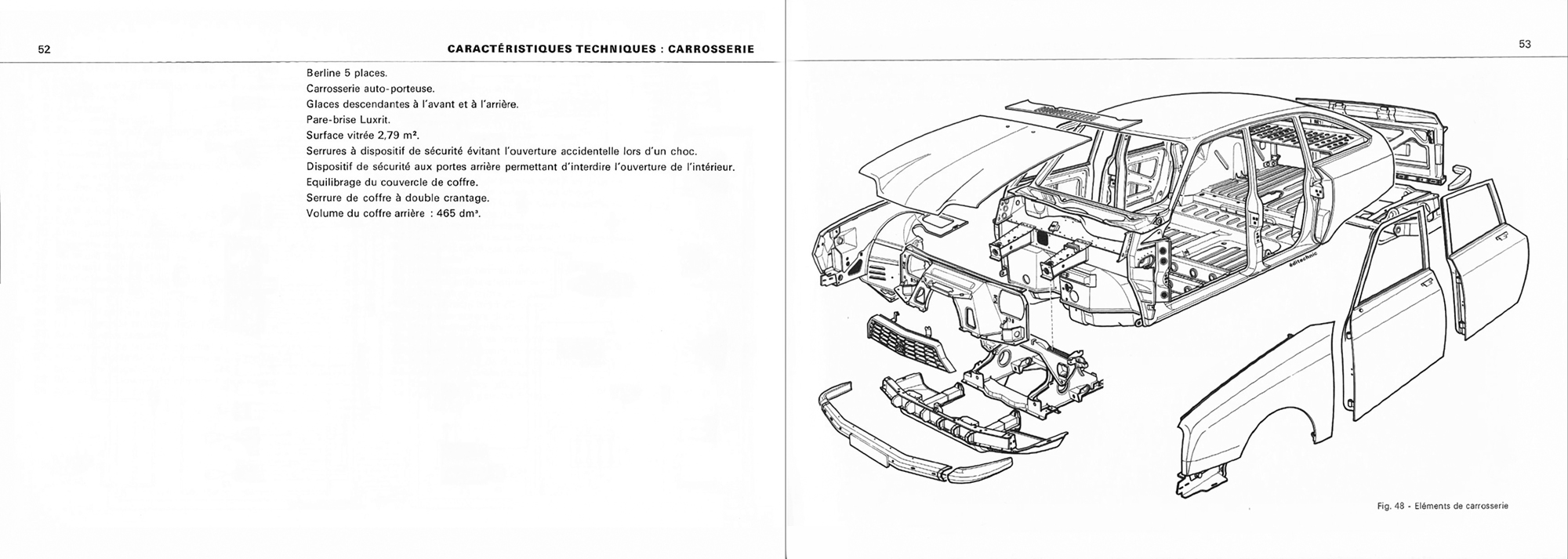 1971 Citroën GS Notice d'emploi (owner's manual) #2