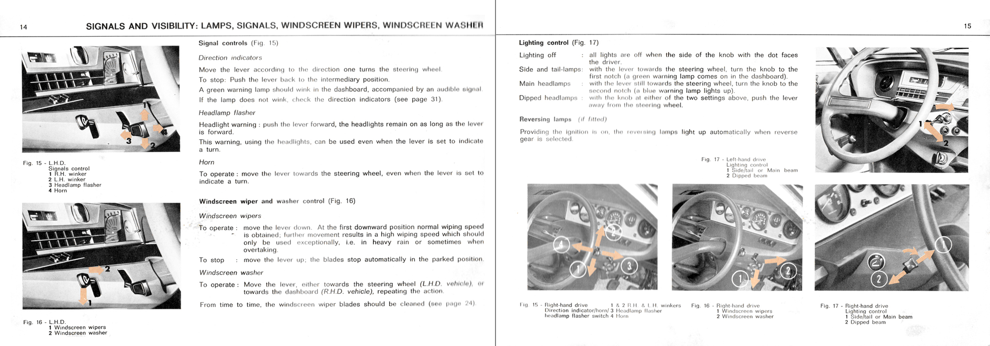 1973 Citroën GS owner's manual Page 1