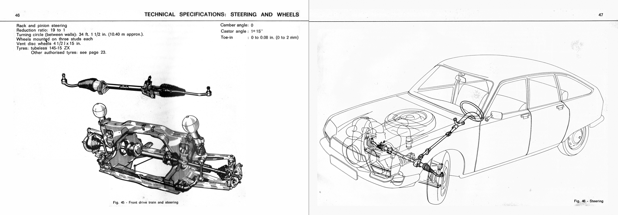 1973 Citroën GS owner's manual Page 2