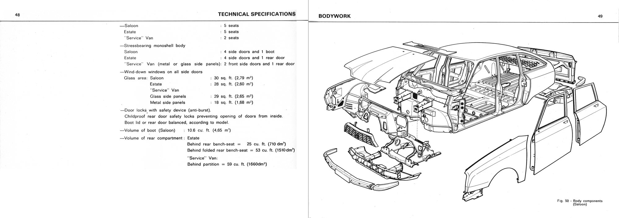 1975 Citroën GS owner's manual Page 2