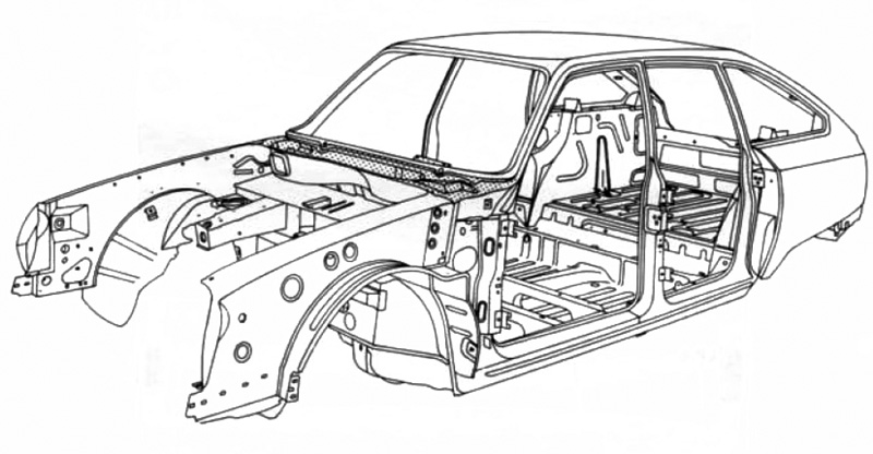 Citroën GS Editechnic drawings and Schematics