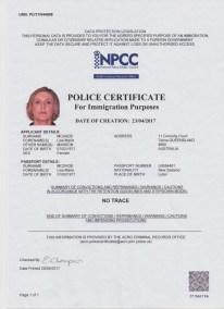 Mcdade Police Cert