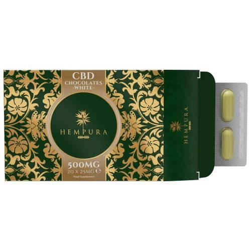 CBD Edibles Uk. 1000mg CBD chocolate Hempura